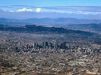 Downtown LA - photo by Wendell Cox
