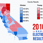 2016 Election Results, California