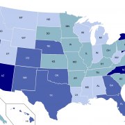 Pay Gap by State in U.S.