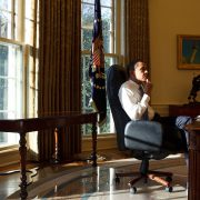 Barack Obama, 1st Day in the Oval Office