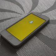 Snapchat Screen Photo credit: Adam Przezdziek
