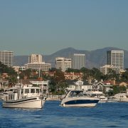 Southern California's newport Harbor