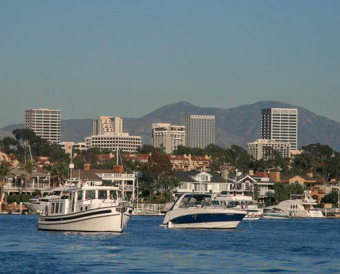 Southern California's newport Harbor