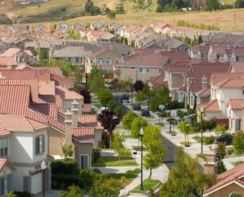Suburban neighborhoods
