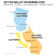 California Split into 3 States: Infographic