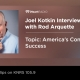 Joel Kotkin Interview on KNRS Radio
