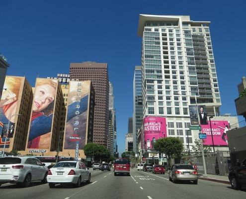 Downtown LA - Luxury highrise apartments