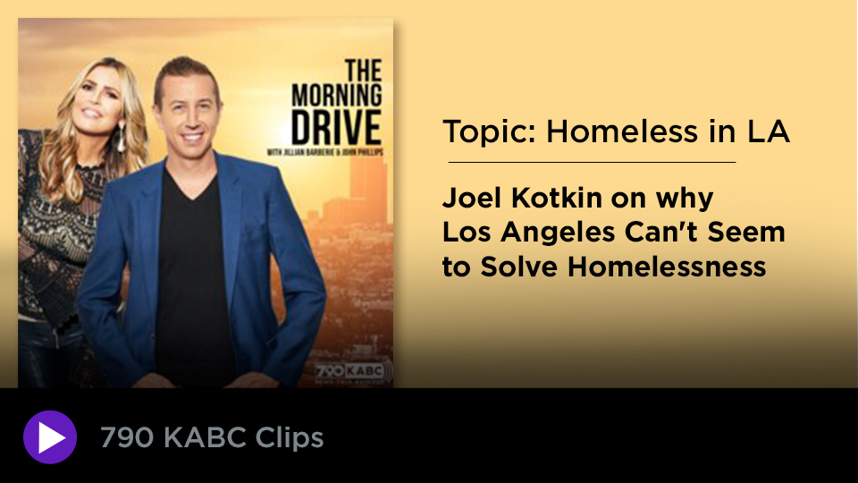 Kotkin tackles homelessness in LA on KABC