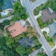 Aerial View of Suburban US