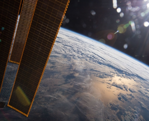 Earth as seen from the International Space Station