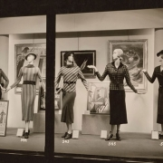 Depression Era Department Store Display Window