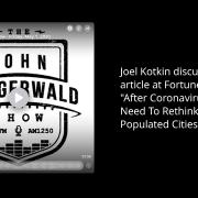 Joel talks with John Steigerwald