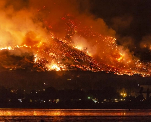 California's fires belie its green policies