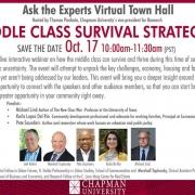Middle Class Survival Strategies Webinar, Oct. 17