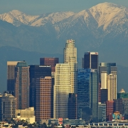 Los Angeles skyline, photographed by Dave Reichert