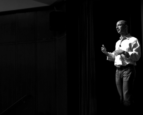 Jeff Bezos answers questions at Startup School