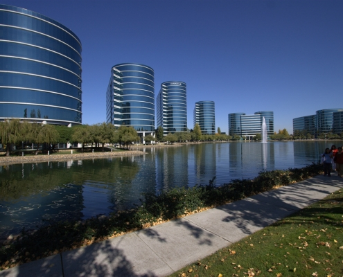 Oracle Campus in Redwood City