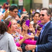Photo credit: Thomas Hawk, Gavin Newsom Works the Crowd, SF Pride 2015