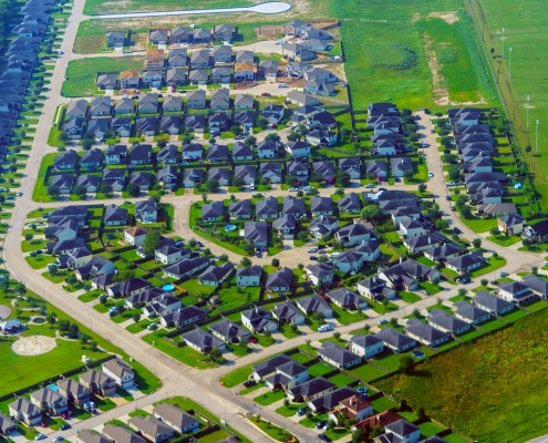 Suburbs of Houston, Texas