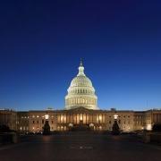 Capitol Hill at Dusk