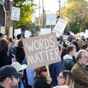 Protests in Pittsburgh after Squirrel Hill shooting