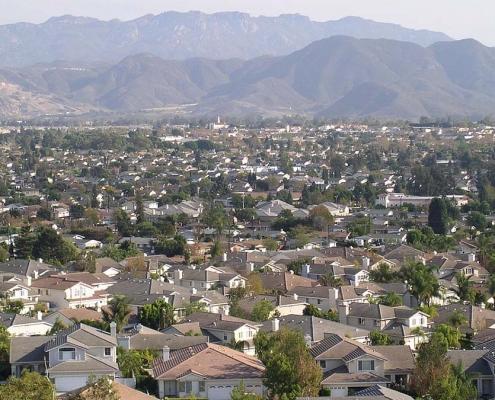 Camarillo, California - an suburban area near Los Angeles