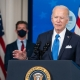 President Joe Biden delivers remarks on COVID-19 vaccine production