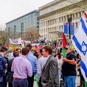 Anti-Israel Protest in Washington, DC