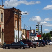 Saco, Montana - small town and inland from coastal cities