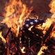 U.S. flag burning