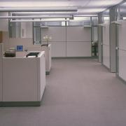 Empty office, by Carol M. Highsmith