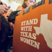 Protests in Texas against stringent abortion legislation