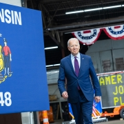 Biden visits Wisconsin to promote the American Jobs Plan